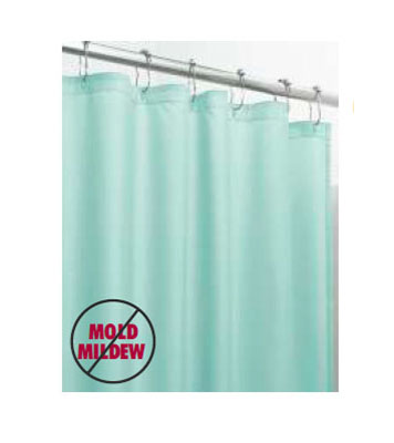 Multi-Sized Fabric Shower Curtains